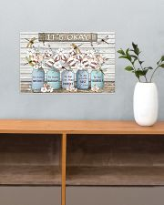 It'S Okay Faux Wood Print 17x11 Poster poster-landscape-17x11-lifestyle-24