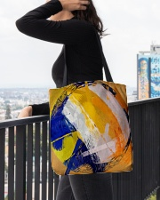 Color Of Volleyball All-over Tote aos-all-over-tote-lifestyle-front-05