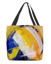 Color Of Volleyball All-over Tote front