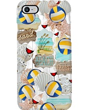Beach Volleyball- Sand Beach Relax Phone Case i-phone-8-case