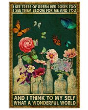 Butterfly And I Think To My Self What A Wonderful  11x17 Poster front