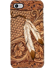 Native American India Feather Phone Case i-phone-8-case