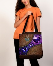 Butterfly leather pattern All-over Tote aos-all-over-tote-lifestyle-front-06
