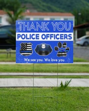 Police Officers 24x18 Yard Sign aos-yard-sign-24x18-lifestyle-front-13