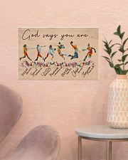 God Says You Are -Softball-Volleyball-Basketball 17x11 Poster poster-landscape-17x11-lifestyle-22