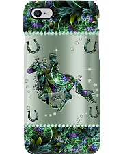 Horse Metal Pattern Print Phone Case i-phone-8-case