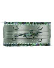 Horse Metal Pattern Print Mask tile