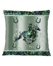 Horse Metal Pattern Print Square Pillowcase tile