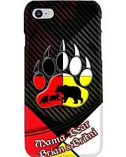 Mama Bear 2 Cubs Brian and Britni case Phone Case i-phone-8-case