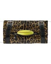 Softball - Leopard - Zip Pocket Mask tile