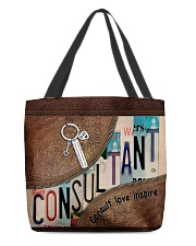 Consultant All-over Tote back