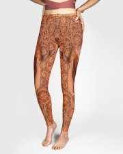 Horse Leather Legging High Waist Leggings aos-high-waist-leggings-lifestyle-03
