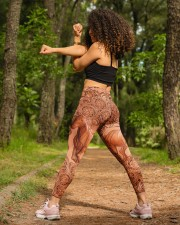 Horse Leather Legging High Waist Leggings aos-high-waist-leggings-lifestyle-19