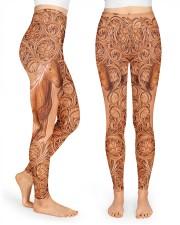 Horse Leather Legging High Waist Leggings front