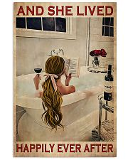 And She Lived Happily Ever After- Blonde Girl 11x17 Poster front