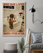 And She Lived Happily Ever After- Blonde Girl 11x17 Poster lifestyle-poster-1