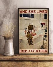 And She Lived Happily Ever After- Blonde Girl 11x17 Poster lifestyle-poster-3