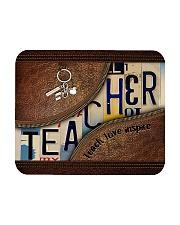 Teacher leather pattern print Mousepad tile