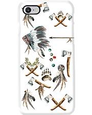 Native American Feather Phone Case i-phone-8-case