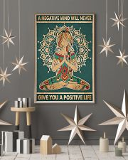 a negative mind will never 11x17 Poster lifestyle-holiday-poster-1