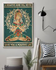 a negative mind will never 11x17 Poster lifestyle-poster-1