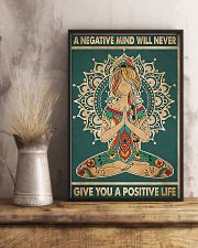 a negative mind will never 11x17 Poster lifestyle-poster-3