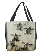 Turtles And The Sea All-Over Tote tile