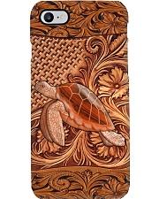 Turtle Featherv2 Phone Case i-phone-8-case