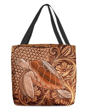 Turtle Featherv2 All-Over Tote tile