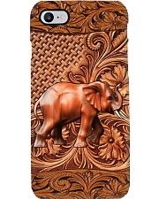 Elephant Feather v2 Phone Case i-phone-8-case
