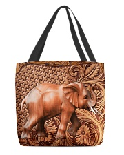 Elephant Feather v2 All-Over Tote tile