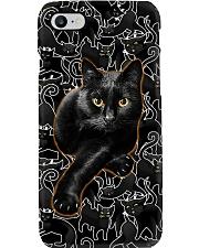 Black Cat Many Phone Case i-phone-8-case
