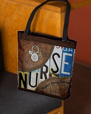 Nurse respect caring courage All-over Tote aos-all-over-tote-lifestyle-front-02