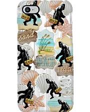 Bigfoot Beer - Sand Beach Relax Phone Case i-phone-8-case
