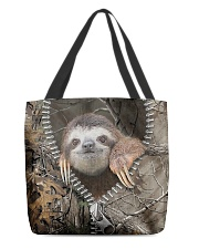 Sloth All-over Tote back