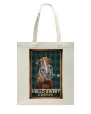 Horse - Hello Sweet Cheeks Tote Bag tile