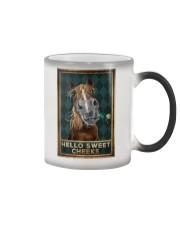 Horse - Hello Sweet Cheeks Color Changing Mug tile