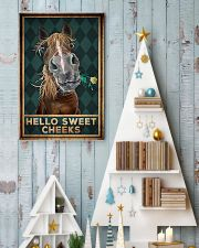 Horse - Hello Sweet Cheeks 11x17 Poster lifestyle-holiday-poster-2