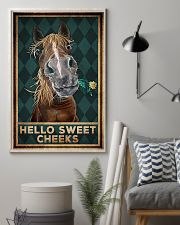 Horse - Hello Sweet Cheeks 11x17 Poster lifestyle-poster-1
