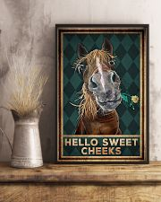 Horse - Hello Sweet Cheeks 11x17 Poster lifestyle-poster-3