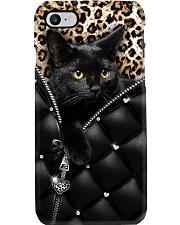 Black Cat For Phone Case Phone Case i-phone-8-case