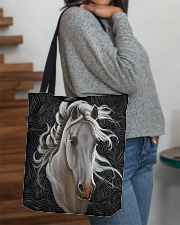 Horse Tote Bag All-over Tote aos-all-over-tote-lifestyle-front-09
