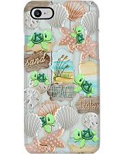 Turtle - Sand Beach Relax Phone Case i-phone-8-case