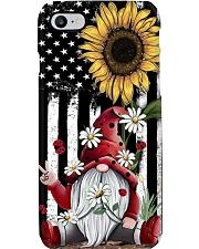 Gnome American Sunflower  Phone Case i-phone-8-case
