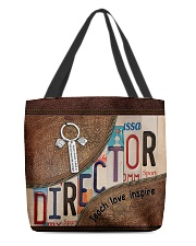 Director All-over Tote back