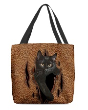 Black Cat Rend All-over Tote front