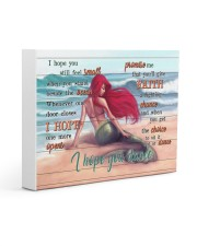 Mermaid I Hope You Dance Gallery Wrapped 14x11 Gallery Wrapped Canvas Prints front