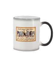 God Says You Are Beautiful Horse Color Changing Mug tile