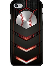 Baseball Carbon 3D Pattern Print Phone Case i-phone-8-case