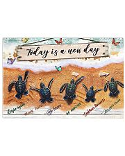 Today Is A New Day 17x11 Poster front